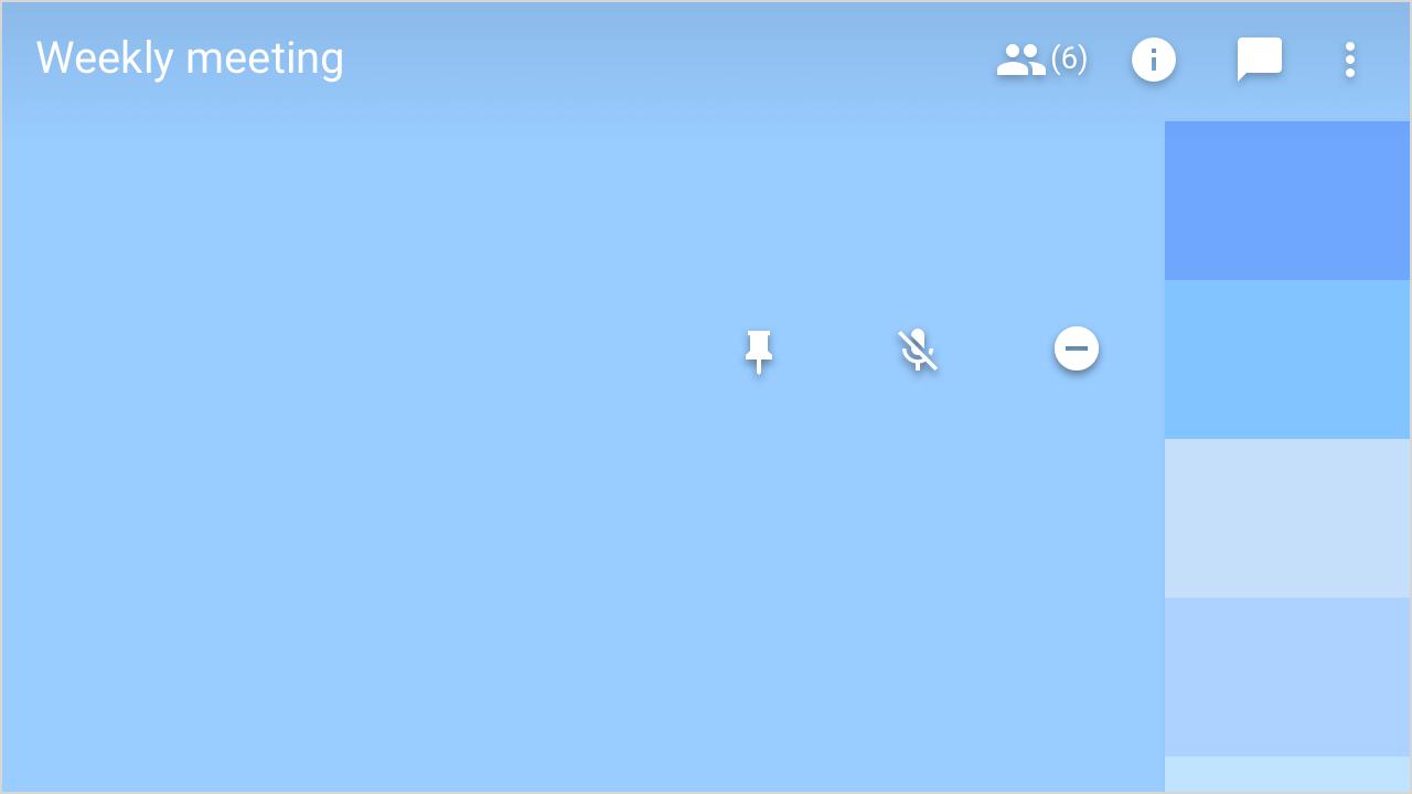 Google Meet UX Design
